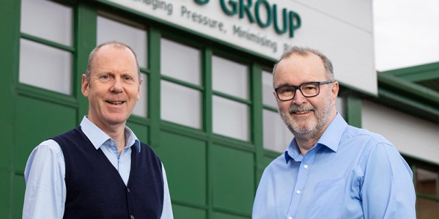 Leigh Howarth CEO & Garry North COO, STATS Group