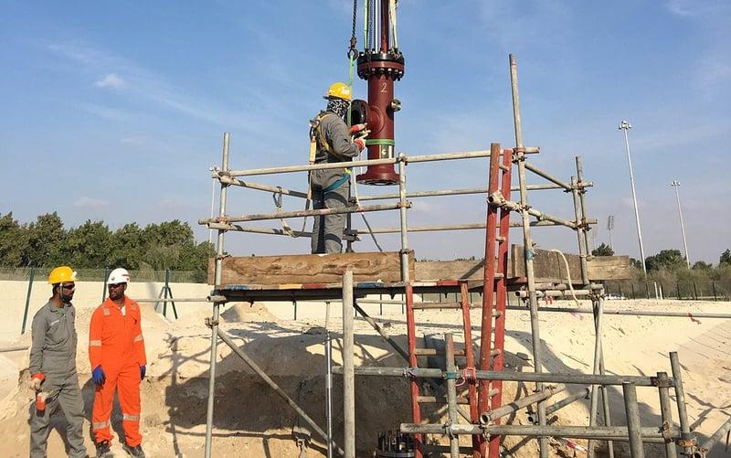 "10"" Dual BISEPs   Jet Fuel Pipeline, Abu Dhabi, UAE"
