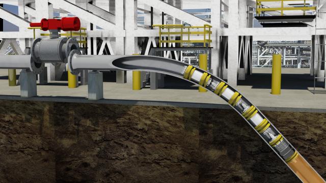 Remote Tecno Plug isolating pipeline