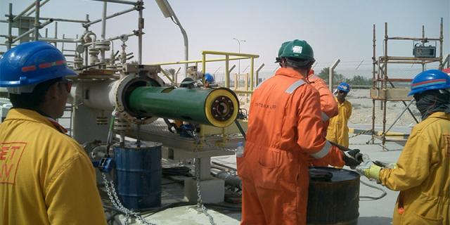 """14"""" Remote Tecno Plug   NGL-4 Plant, Mesaieed Industrial City, Qatar"""