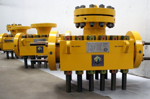 8in Subsea Mechanical Clamps