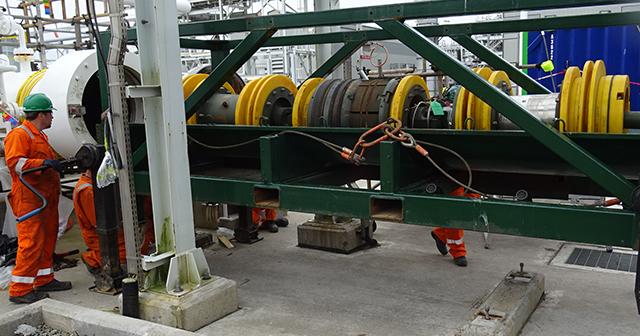 "Pipeline Isolation Plug, 30"" Remote Tecno Plug"