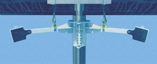 Riser Securing Clamps | AH001 Ivanhoe Oil Field