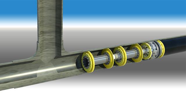 "24"" Remote Tecno Plug | Dunlin Alpha Platform, North Sea, UK"