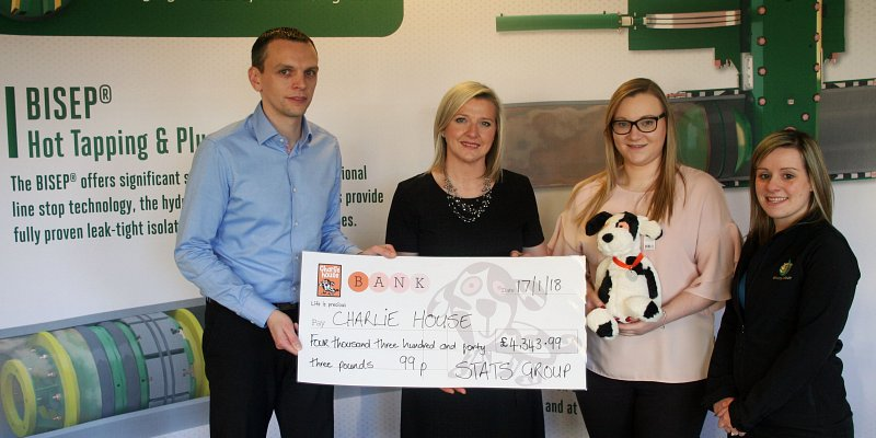 STATS Group supports north-east charity Charlie House
