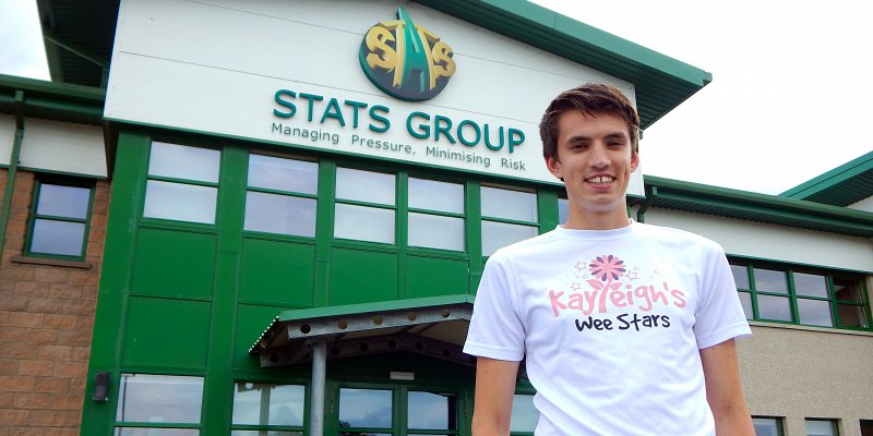 Matthew Runs Miles and Miles for Children's Charity