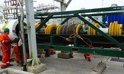 """30"""" Remote Tecno Plug, SIRGE Pipeline, Shetland Gas Plant, UK"""