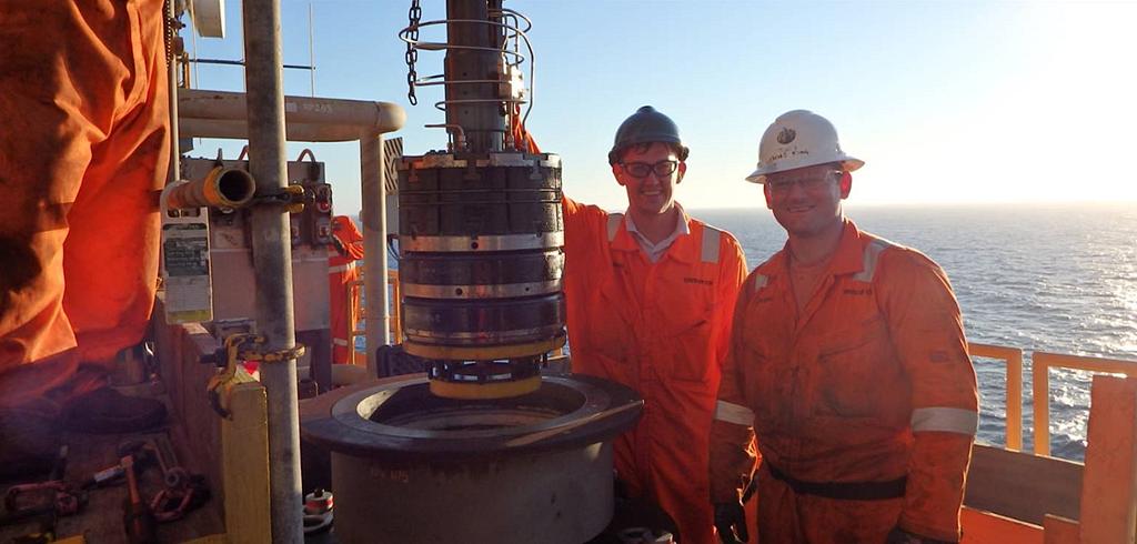 18 Tethered Tecno Plug, Offshore Platform, Australia
