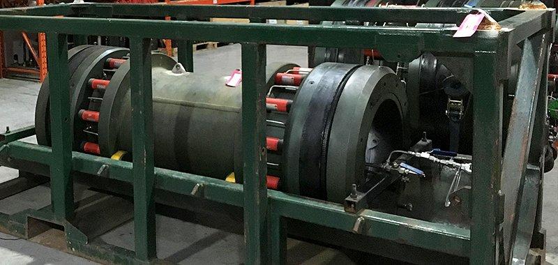 Hydro static weldtester
