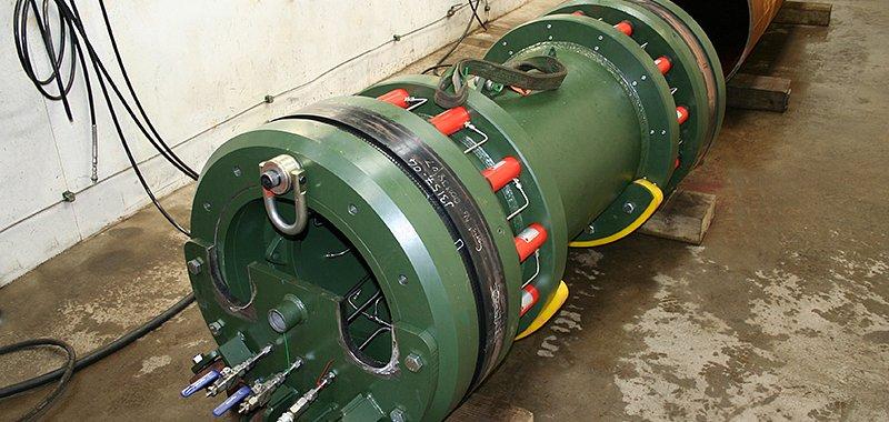 Hydro static weldtest tool