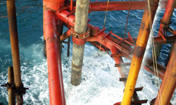Caisson Securing & Recovery, North Sea, UK