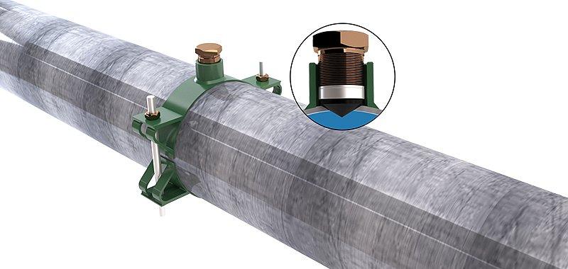Pin-Hole Leak Repair Clamp