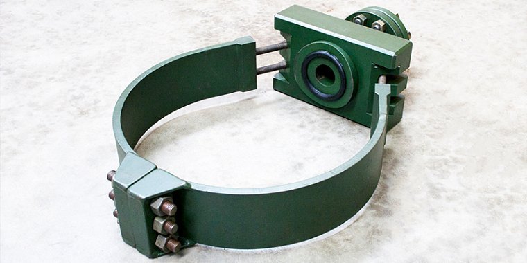 Strap Clamp, Hot Tapping, Tie-In or Repair