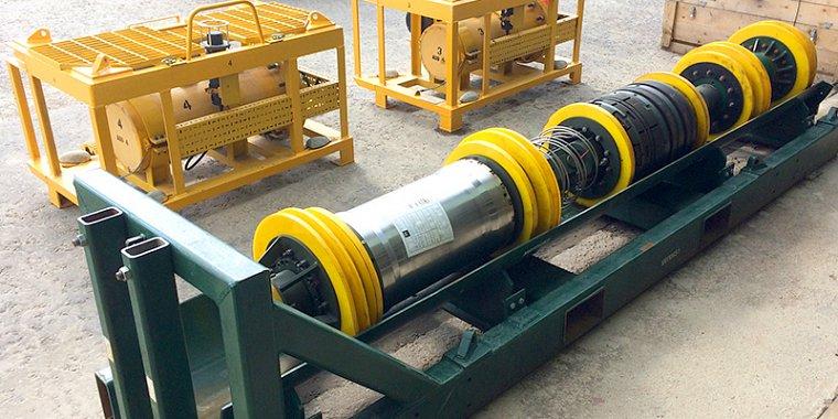Subsea pipe line isolation plug